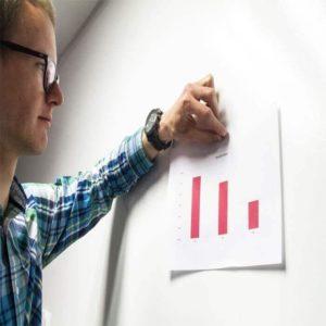 wykorzystanie tabety magnetycznej do prezentacji wyników