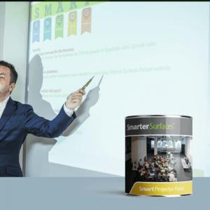 farba projekcyjna smartwallpaint